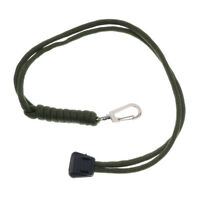 Army Green Outdoor Survival Paracord lanyard keyring Gear for key camera USB