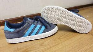 adidas gazelle boys suede trainers size uk 2 eu 34