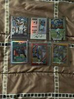 Zay Jones - 6 Card lot - no base - RC/Patch/SP/Auto/Prizm - see below - Raiders