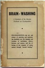 ebook on CD: 1955 Brain-Washing Manual by L. Ron Hubbard Scientology Dianetics