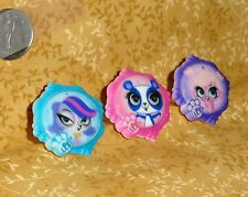 Littlest Petshop,Cupcake Ring,Plastic,DecoPac,Brights,LilPet, Multi-Color,38562