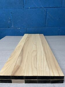 Planned Ash Timber Offcuts Hardwood - Inlay - 10 pieces @ 48 X 18 X 600 mm Long