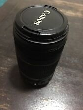 Canon EF-S 55-250mm Lens. Pristine Condition.