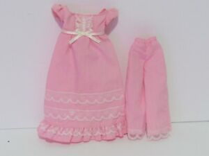 Barbie Doll The Princess and the Pauper Pajamas Gown Set Fairytale Collection