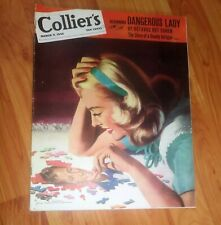 Collier's Magazine March 9, 1946 post WWII Issue *Secret War Scandinavia*