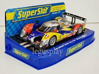 Slot Car Scalextric Superslot H3195 Peugeot 908 HDi FAP Team Oreca #4