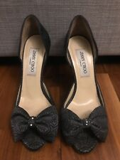 Plata Jimmy Choo Zapatos con arcos, EU 36, UK 3
