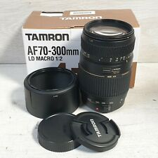 Tamron AF 70-300mm F/4-5.6 Di LD Macro Lens for Canon - Black