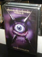 The Grindhouse Experience Presents - Eye On Horror (DVD) 3-Disc! 10 Films! NEW!