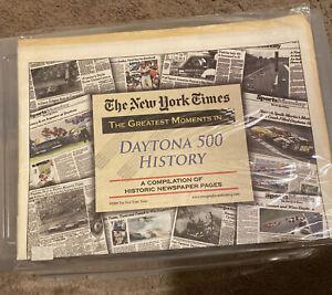 DAYTONA 500 HISTORY PAPER   THE NEW YORK TIMES