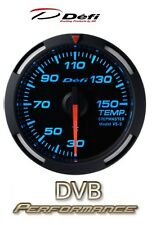 Defi Racer 52mm Car Water Temperature Gauge - Blue - JDM Style Stepper Motor