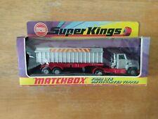 Matchbox 1973 Vintage Super Kings - K-18 Ford LT5 Articulated Tipper - Boxed
