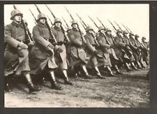 Remarkable Press Photo WWII 1945 German Army in Czechoslovakia Rare See text