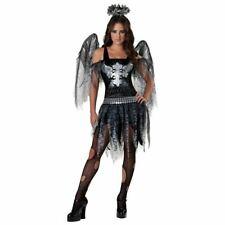 Foncé Ange Costume Halloween Costume Déguisement Ado Enfants 16-17 Ans
