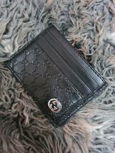 Gucci Signature Card Case Wallet