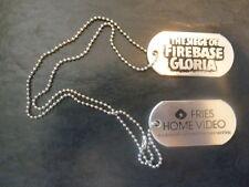 Siege Of Firebase Gloria Dog Tags Movie Memorabilia Tag Video Store 1989 The