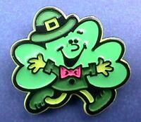 Hallmark PIN St Patrick Vintage SHAMROCK Man Anthropomorphic Irish Holiday
