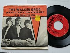 """THE WALKER BROTHERS - Make It Easy On Yourself / Doin The Jerk 1965 P/S 7"""" Smash"""