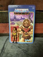 Masters of the Universe GRIZZLOR 3.75 ReAction FIGURE He-Man Power Con Exclusive