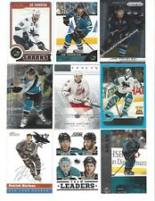 Lot of 1400 San Jose SHARKS Hockey Cards Set Boxed Packs - Thornton Burns