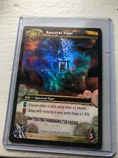 SPECTRAL TIGER Loot Card World of Warcraft - Excellent Condition - USED TCG CODE