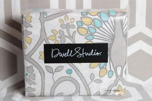 Dwell Studio  Full Queen Duvet & Shams Peacock $170 Dwellstudio Victoria Citrine