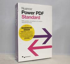 Nuance Power PDF Standard Akademische Version - PDFs erstellen - Deutsch