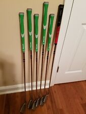 Cobra Baffler Iron set 5 thru P/W. Good Condition.