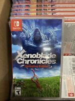 Xenoblade Chronicles: Definitive Edition - Nintendo Switch Brand New And Sealed