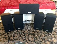 5 Bose **Perfect** Acoustimass Lifestyle Double Cube Speakers, Direct Reflecting