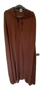 Adult Brown Star Wars Style Jedi Cloak Costume