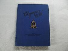 Zigarettenbilderalbum, Olympia 1936 Band 1 kompl.