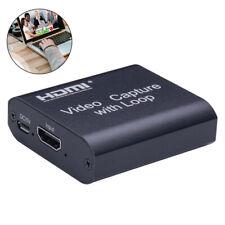 4K HDMI Video Game Capture Card Videoaufnahme USB2.0 Für Switch Ps4 Netzklasse