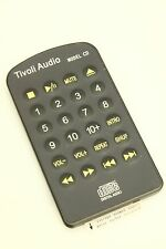 (nuevo) original Tivoli Audio control remoto para Model CD Remote Control Taupe Grey