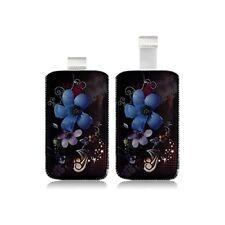 Housse Coque Etui Pochette pour HTC Smart / Touch 2 avec motif HF16
