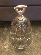 Living Quarters Crystal 1999 Bell New In the Original Box 24% Lead