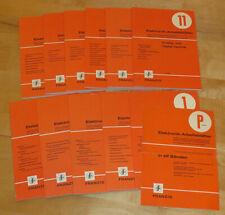 Elektronik Arbeitsblätter Band 1-11 FRANZIS Verlag
