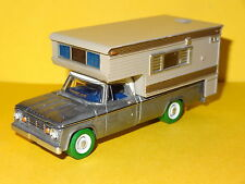 1967 DODGE D-100 PICKUP CAMPER RAW CHASE GREEN MACHINE 1/64 LIMITED EDITION CP