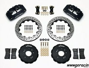"Wilwood Superlite 4 Front Big Brake Kit Fits 1995-1998 Nissan 240SX,13"" Rotors -"