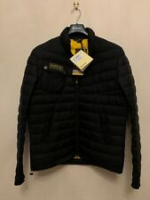Barbour Men's Chain Quilted Baffle Insulation Jacket, Black M New With Tags RRP