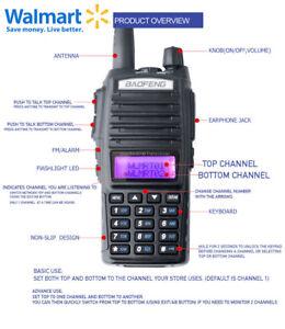 Radio Walkie Talkie compatible with RDM2070d Programmed for Walmart & Sams club