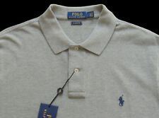 Men's POLO RALPH LAUREN Heather Gray POLO Shirt M Medium Classic Fit NWT NEW