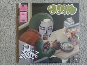 "Vinyl 12"" LP - MF Doom - MM..Food - Limited Pink And Green Vinyl - SEALED"