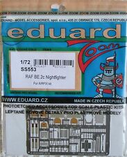 Eduard 1/72 SS555 Colour Zoom etch for Trumpeter MiG-29 (9-13) kit