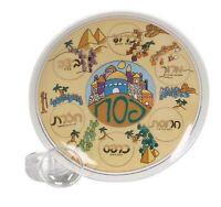 Wandering in the Desert Ceramic Passover Seder Plate - 12 Inch Round