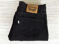 Men's Levi Strauss & Co. 751 Straight Fitting Jeans Styled Black Cords W34 L30