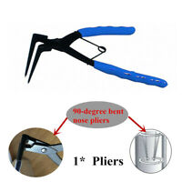 Circlips Snap Ring Plier Internal Ring Remover w/ 90-degree Bent Long Nose Car