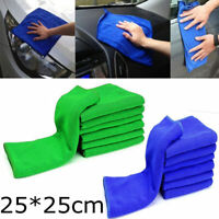 50x Large Microfibre Cleaning Auto Car Detailing Soft Cloths Wash Towel Duster