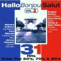 HALLO,BONJOUR,SALUT VOL.2 2 CD NEUWARE