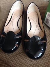 Kate Spade Jory Flat, Size 9.5! Black Patent Leather! NEW From Nordstrom's!!